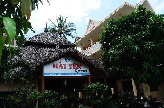 Hai Yen Family Resort: 大门口