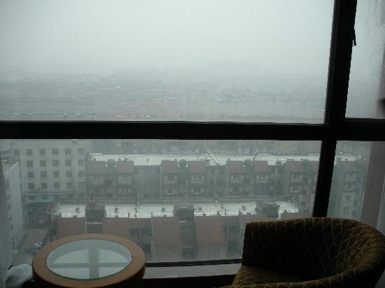 San Teh Hotel: 从窗户望出去