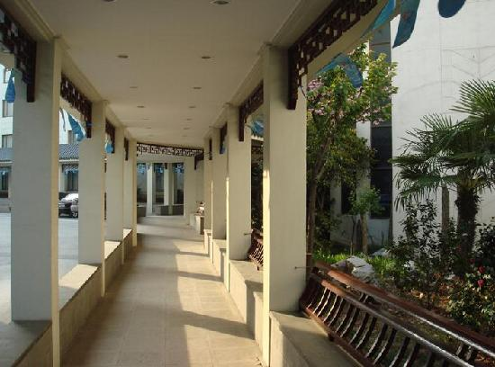Weining County, Cina: 走廊