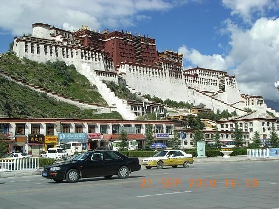 Лхаса, Китай: 布达拉宫