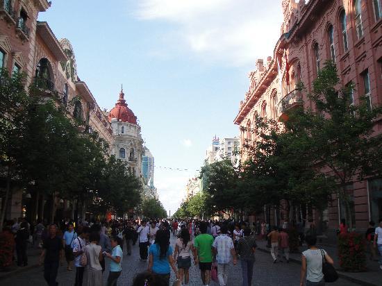 Modern Hotel: 这条就是传说中亚洲最长的步行街——中央大街