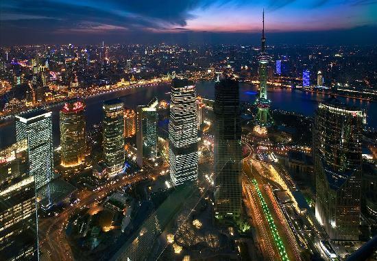 Shanghai, China: 繁华