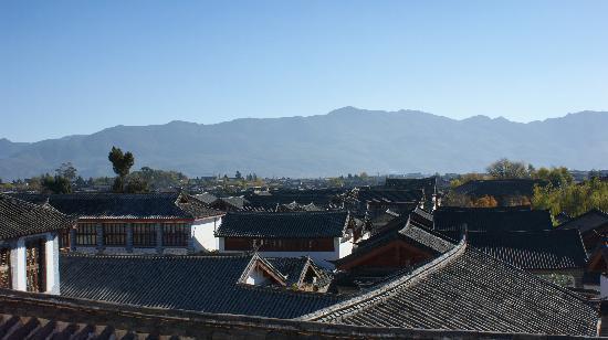 Mujiayuan Inn: 观景阳台