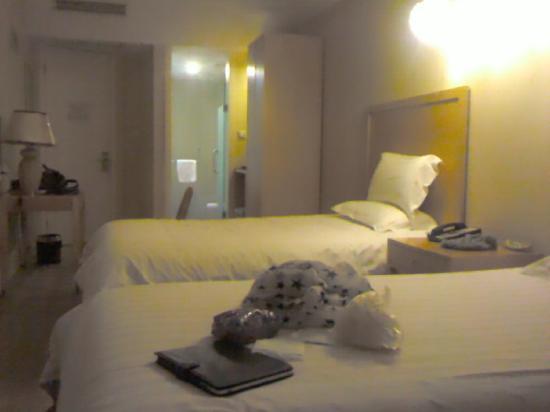 FX Hotel Shanghai North Bund: 双床房间