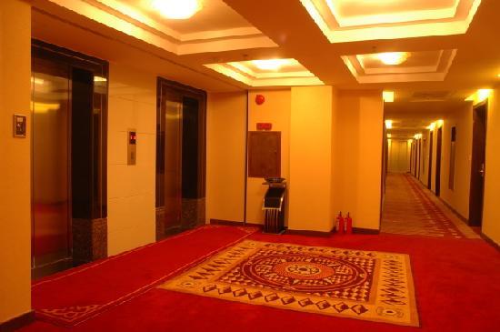 Huangchao Hotel: 酒店走廊
