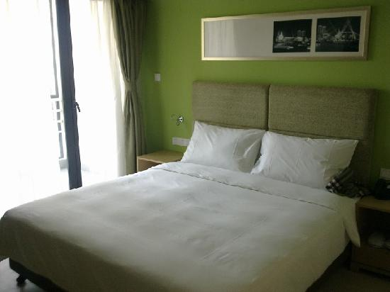 Citadines Zhuankou Wuhan: 居家卧室