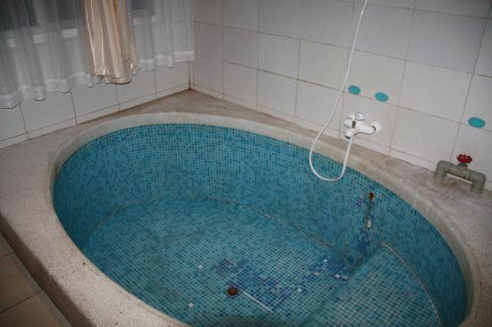 Xiuquan Yingyue Hot Spring Holiday Hotel: 房间里的大泡池