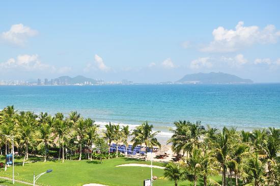Ocean Sonic Resort : 阳台看下去的无敌海景