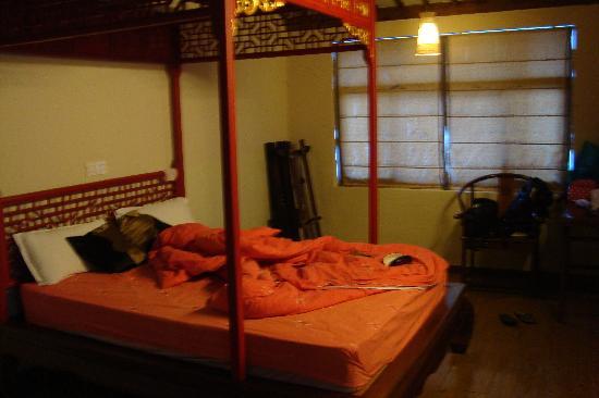 Old Street Youth Hostel: 大床