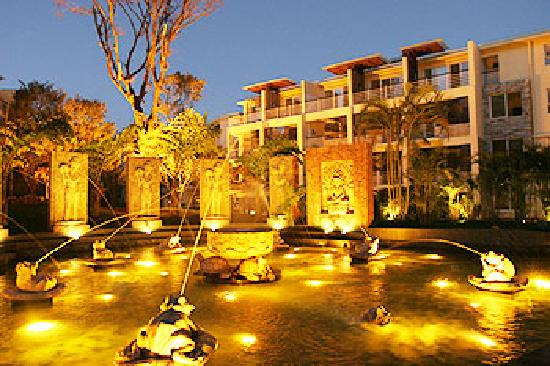 Spring Soul Garden Spa & Resort : 酒店全是联排式别墅
