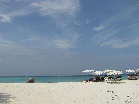 Ko Racha Yai, Thailand: 眺望那片海。。。
