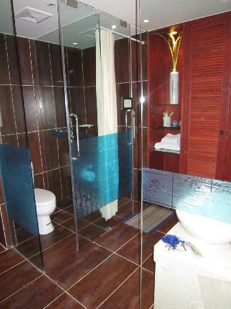 "Jinguan Impression Apartment Hotel: 卫浴部分--一水的""乐家""洁具"