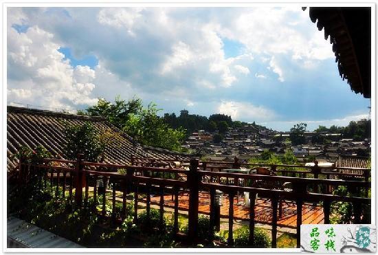 Hanshiguan Mansion House: 丽江香舍客栈二楼观景台