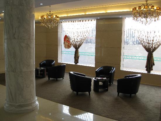 Ximeng Hotel: 大堂休息区
