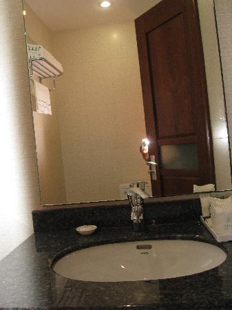 Ximeng Hotel: 卫生间