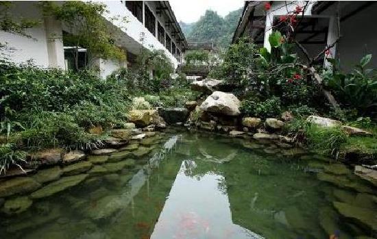 Guiguan International Hotel : 庭院