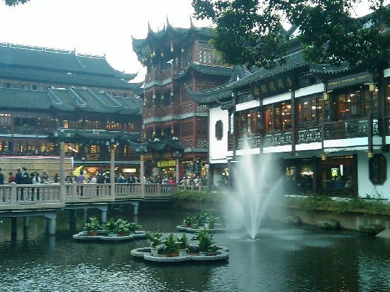 Shanghai, China: 豫园的热闹