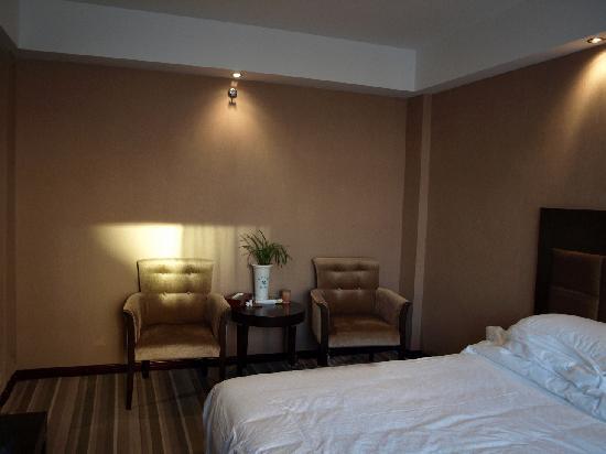 Meilihua Hotel: 有泡茶的场地。