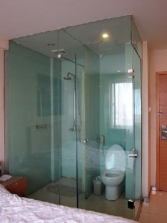 Happy Guest House (Nanqi): 淋浴房有转身之量