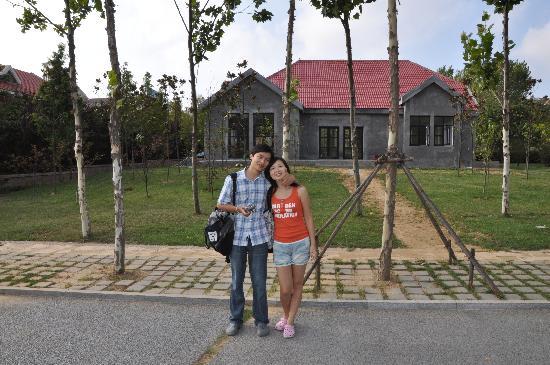 Home Inn Qingdao Taipingjiao: 酒店后面的小公园