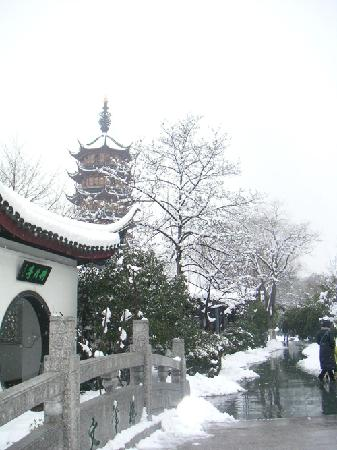 Changzhou, Κίνα: 雪景