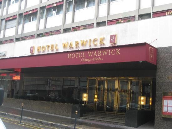 Warwick Paris : 酒店外貌