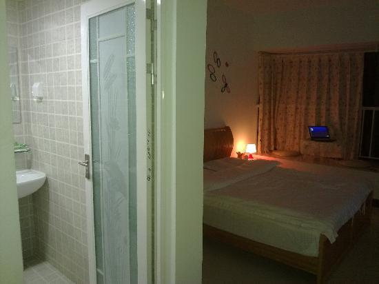 Xunyicao Seaview Holiday Apartment : 卫生间很干净
