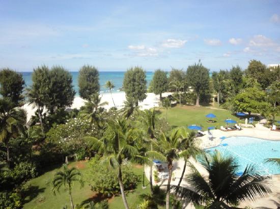 Fiesta Resort & Spa Saipan: 房间看出去的海景