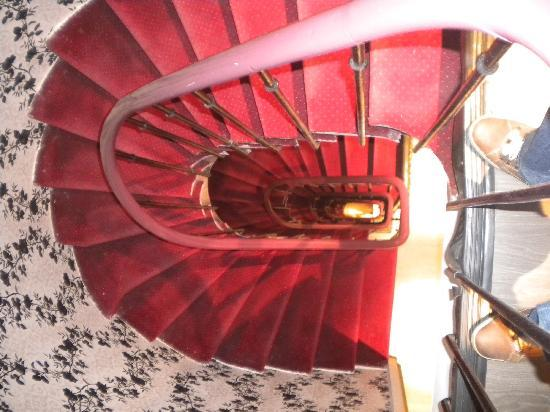 Plug-Inn Hostel : 旋转楼梯