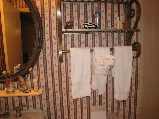 Radisson Piscataway: 浴室