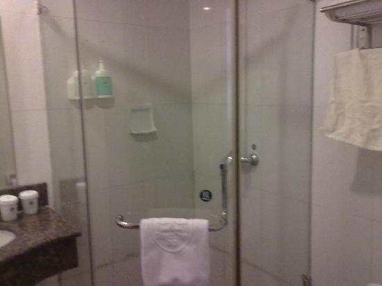 Gelin Hotel Wuhan Donghu: 洗漱间