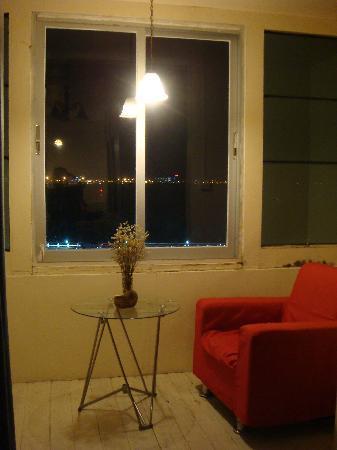 Deep Blue Seaview Inn: 看海阳台