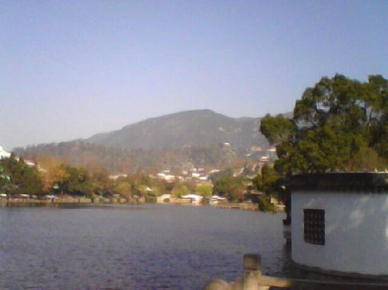 East Lake of Linhai