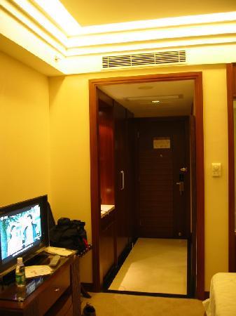 Shenzhen Fortune Hotel: 房间里的过道