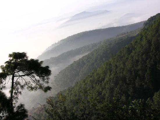Wuding County, Chine : 山景