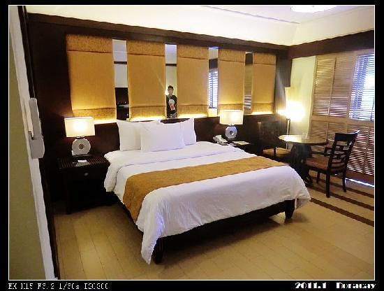 Henann Lagoon Resort: 房间很大,床也很大