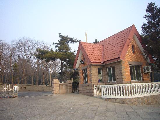 Qingdao Badanguan Jinxiuyuan Hotel: 酒店入口