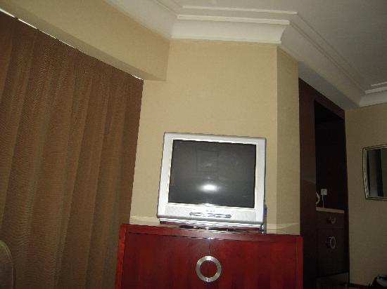Yangtze Island: 床对面的大电视