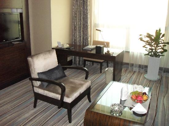 Grand Soluxe Zhongyou Hotel Shanghai: 客厅