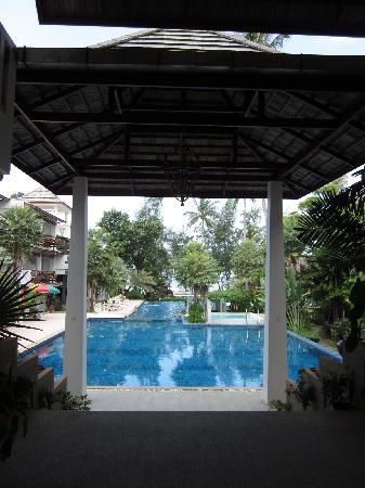 Koh Tao Montra Resort & Spa: 游泳池一角