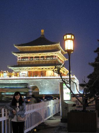 Xi'an, China: 晚上的样子