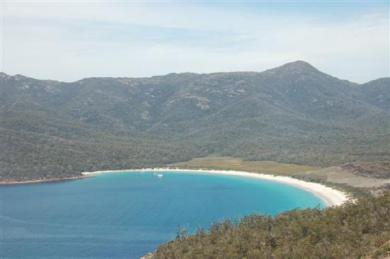 Australië: Freycinet国家公园Wineglass Bay