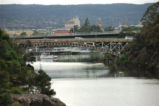 Australien: Launceston King's Bridge