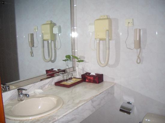 Kylin Villa: 洗手间盥洗台