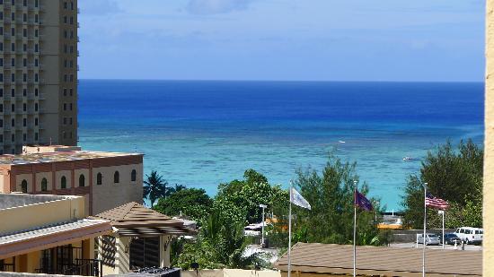 Гуам, Марианские острова: 关岛酒店窗外