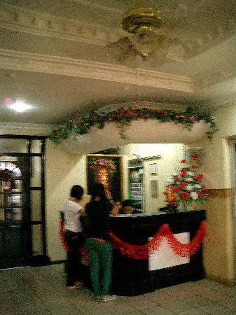 Mabul Inn : 前台
