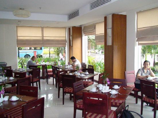 Siem Reap Riverside: 酒店里的餐厅