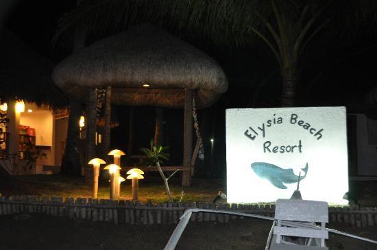 Elysia Beach Resort: 酒店夜景