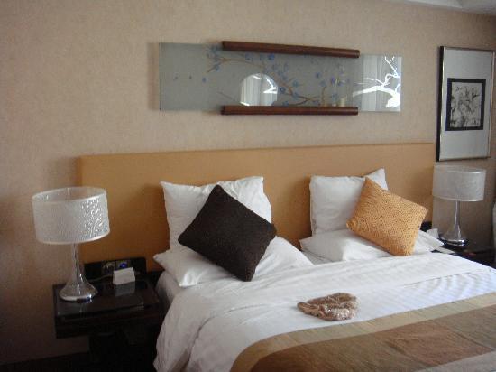 Gehua New Century Hotel: 温暖的床