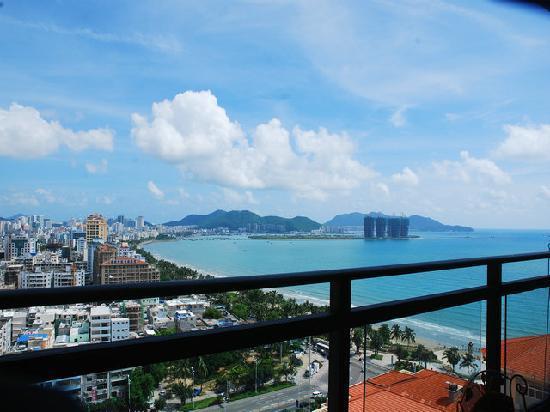 Muhai Hostel Jinfenghuang Apartment: 阳台景观